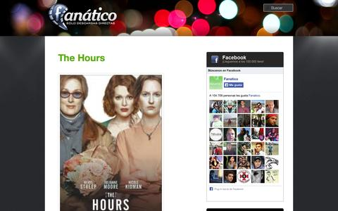 Screenshot of Hours Page sdd-fanatico.org - The Hours | Fanatico | Sdd-fanatico - captured Oct. 30, 2014