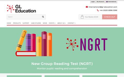New Group Reading Test (NGRT)