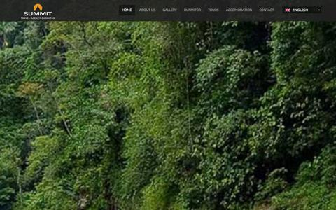 Screenshot of Home Page summit.co.me - Summit  - travel agency - captured Oct. 7, 2014