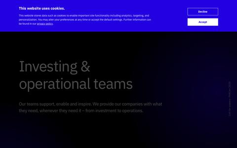 Screenshot of Team Page project-a.com - Team | Project A - captured Jan. 20, 2020