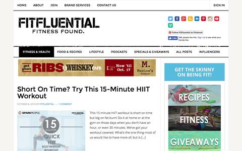 Fitness and Health Archives - FitFluential