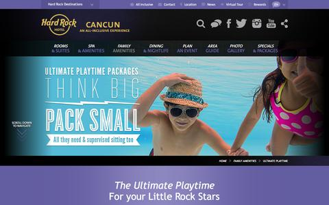 Ultimate Playtime | Hard Rock Hotel Cancun