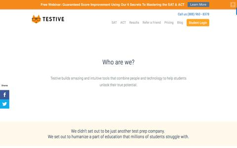 Learn More About Team Testive | Testive