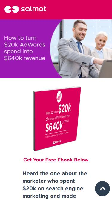 How To Turn $20k AdWords Spend Into $640k Revenue - Download the ebook