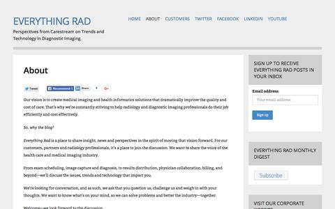 About - Everything Rad