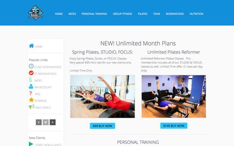 Screenshot of Services Page bodyfi.com - START: New Clients - bodyFi Personal Training | Pilates | Group Fitness | San Francisco - captured Oct. 5, 2014