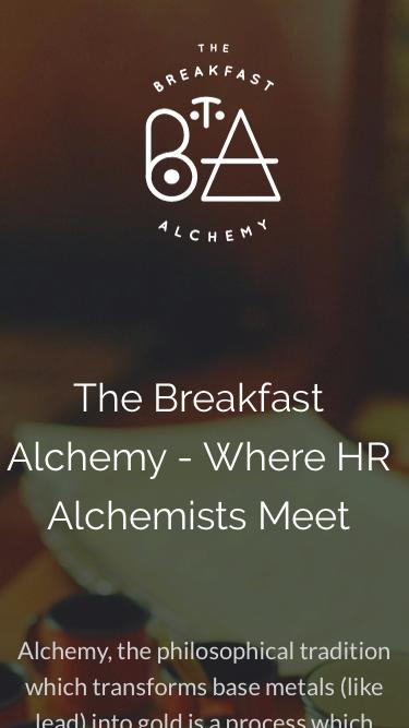 The Breakfast Alchemy