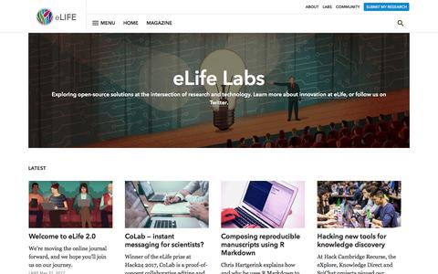 Labs | eLife