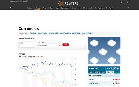 Currency Converter, Currencies News | Reuters.com