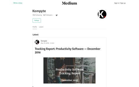 Kompyte – Medium