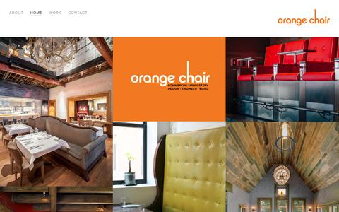Screenshot of Home Page orange-chair.com - Orange Chair - captured Aug. 15, 2016