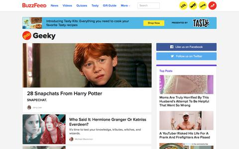 Geeky (geekybadge) on BuzzFeed
