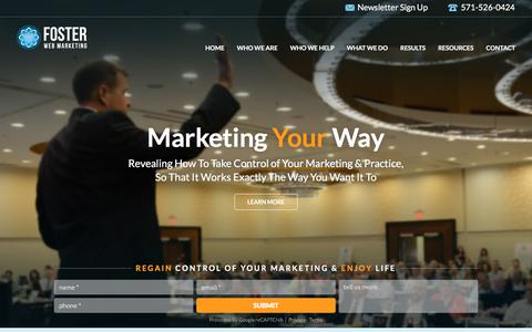 Law Firm Web Marketing That Works | Foster Web Marketing