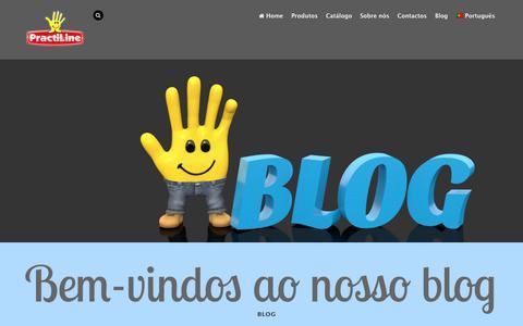 Screenshot of Blog practiline.pt - Practiline - Blog - captured Sept. 29, 2018