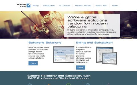 PortaOne Integrated B/OSS & OCS and SBC & C4/5 Softswitch Solutions for Telecoms