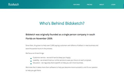 About Bidsketch Proposal Software | Bidsketch