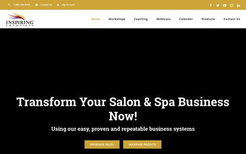 Salon Business Strategies and Salon Consulting - Inspiring Champions