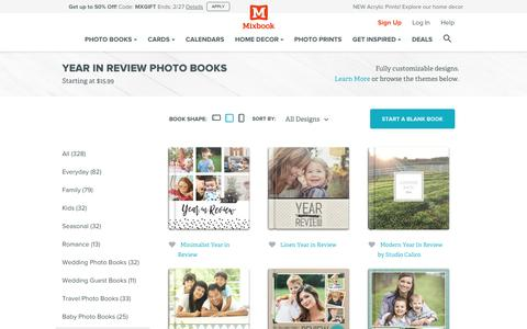 Everyday Year in Review Photo Books, Albums & Portfolios | Mixbook