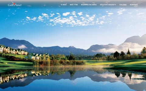 Screenshot of Home Page golfplanet.cz - Golf Planet - captured Dec. 8, 2018