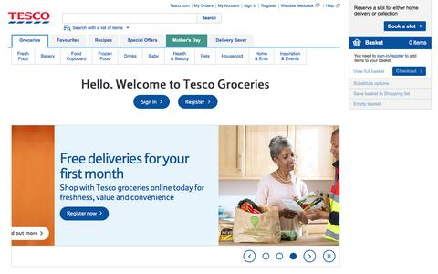 Online grocery shopping | Tesco Groceries