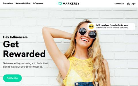 Screenshot of FAQ Page markerly.com - MARKERLY - captured Nov. 2, 2017