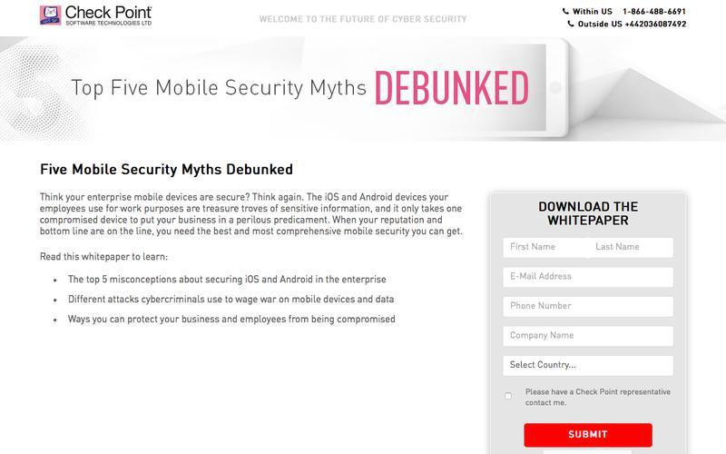 Five Mobile Security Myths Debunked