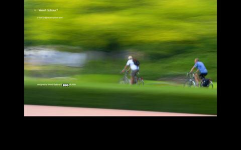 Screenshot of Home Page visual-options.com - Visual Options ® - captured Sept. 16, 2015