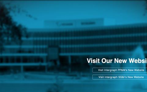Screenshot of Home Page intergraph.com - Intergraph Corporation | Process, Power and Marine | Security, Government and Infrastructure - captured Oct. 14, 2015