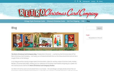 The Retro Christmas Card Company Blog - Retro Christmas Cards