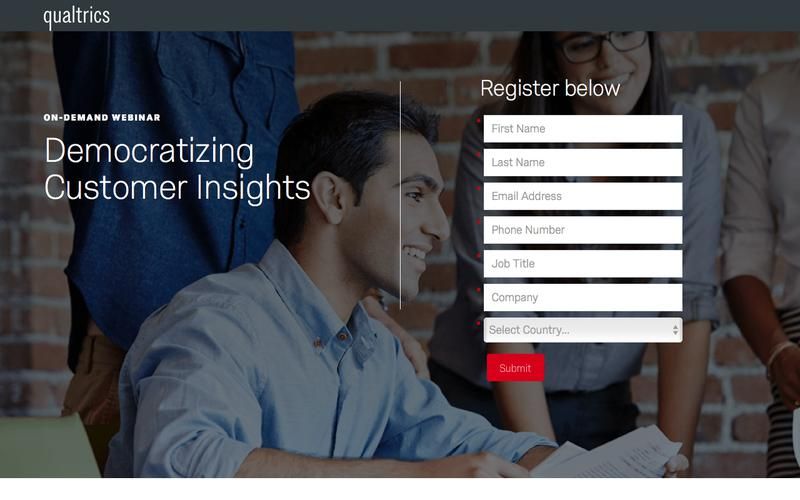 Qualtrics | Democratizing Customer Insights