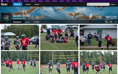 Screenshot of Flickr Page flickr.com - Flickr: Agape Boarding School's Photostream - captured Oct. 22, 2014