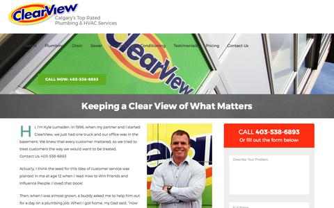 Calgary Furnaces, Plumbing and Heating | ClearView Plumbers and Heating