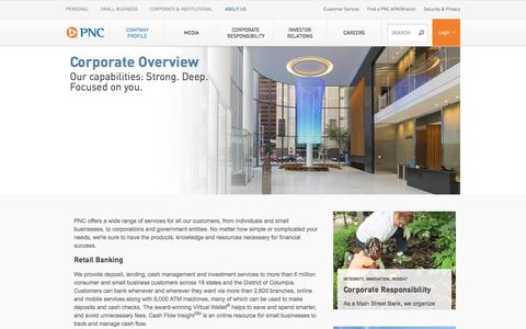 PNC Bank - Corporate Overview