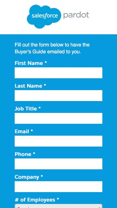 Marketing Automation Buyer's Guide