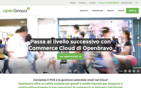 Openbravo, le preferite Suite Commerce e Business
