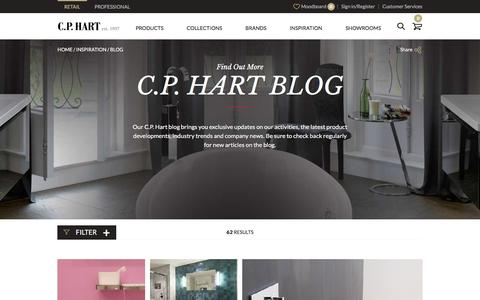 Screenshot of Blog cphart.co.uk - Blog - captured March 2, 2016