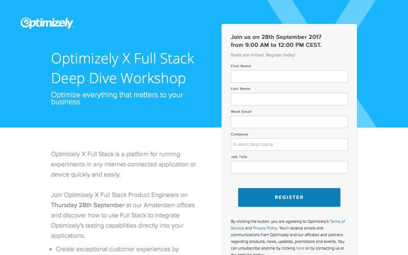 Full Stack - Deep Dive workshop