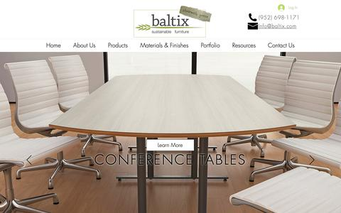 Screenshot of Products Page baltix.com - baltixfurniture | Products - captured Oct. 5, 2018