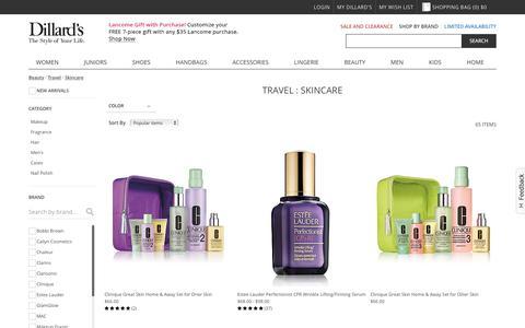 Beauty | Travel | Skincare | Dillards.com