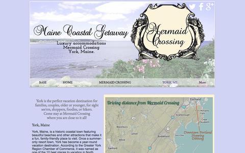Screenshot of About Page mainecoastalgetaway.com - York Maine Vacation - captured May 27, 2017