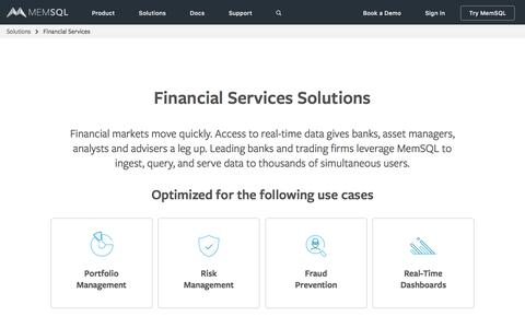 Financial Services Solutions