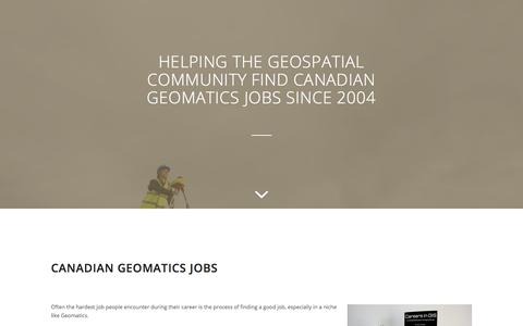 Canadian GIS Job Board