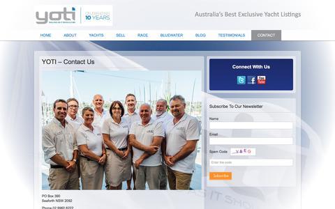 Screenshot of Contact Page yoti.com.au - YotiYOTI - Contact Us | Yoti - captured July 25, 2018