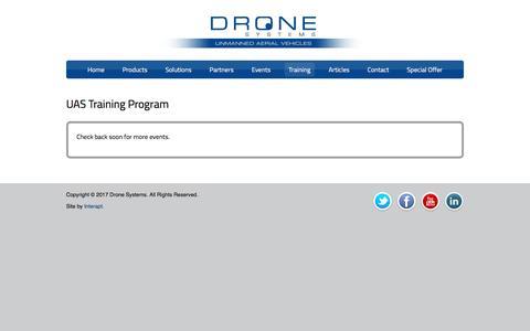 UAS Training Program | Drone Systems