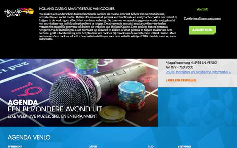 Agenda - Venlo - Holland Casino