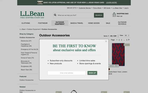 Outdoor Accessories | Outdoor Gear at L.L.Bean.
