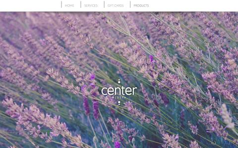 Screenshot of Products Page centermedspa.com - Products – Center MedSpa Chattanooga TN - captured May 15, 2017