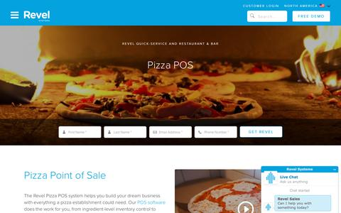 Pizza POS System   Revel iPad Point of Sale