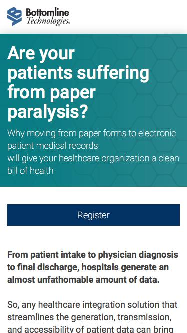 Say goodbye to paper - make the move to electronic patient medical records