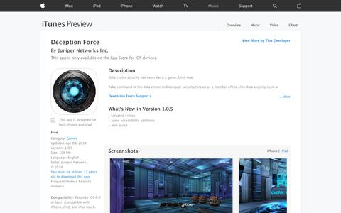 Deception Force on the App Store